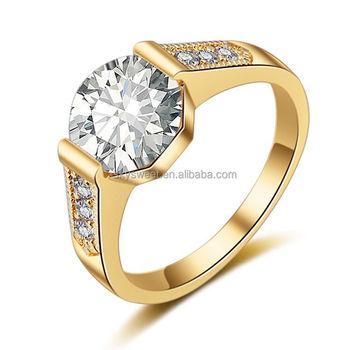 New Fashion Diamond Engagement Ring Chocolate Ring Gold Ring Designs