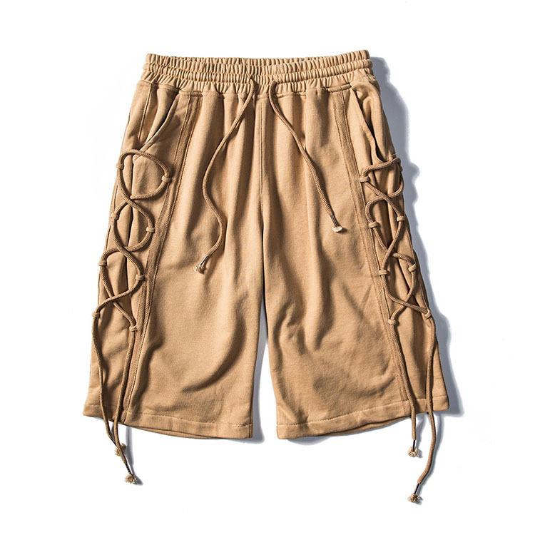 14ad536b6c Original brand high street cotton mens wear elastic waist short pants cool  casual high wait mens
