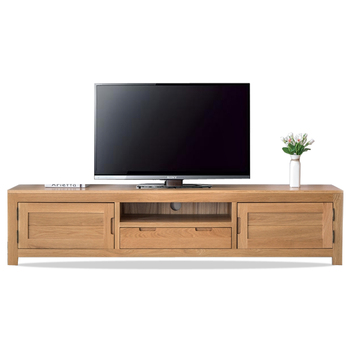 Modern Simple Wood Tv Stand Showcase