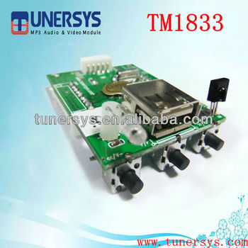 Mp4/mp3/audio Player Circuit Board Pcb Tm2533 From China Tunersys ...