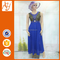 Newest lace material china suppliers ladies maxi dress for women clothes