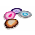 Top quality natural crafts precious stone agate plate agate coaster