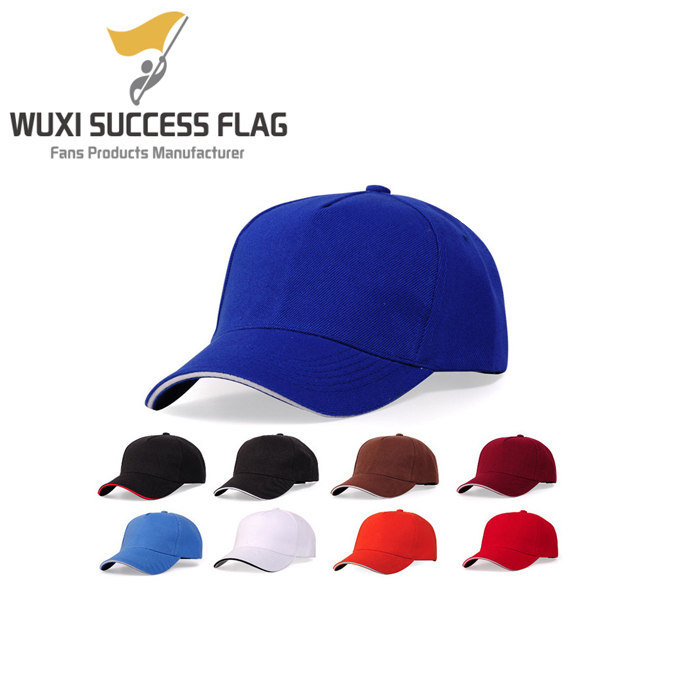 custom various colors baseball cap hat for company staff