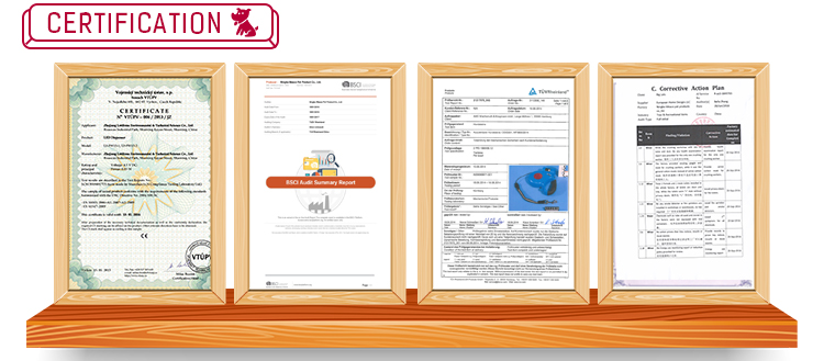 Durable ABS kunststoff gehäuse mit ergonomischen griff und maximale freiheit anti-slip griff beleuchtete halsband und leine