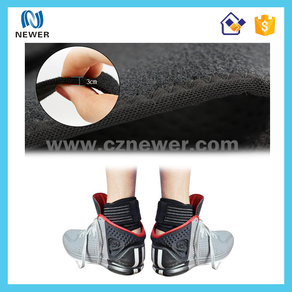 Super quality protective latest price neoprene ankle gel pads for sports