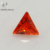 Synthetic Trillion Cut Shinny faceted cubic zirconia