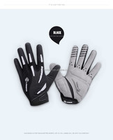 Sports gloves for bicycle and motorcycle full finger winter cycling gloves