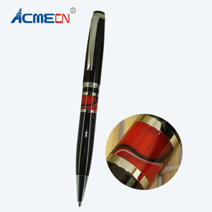 ACMECN Metal Custom Logo Ballpoint Pen Metal and acrylic Material Parker style refill retractable Pens for Advertisement Gifts