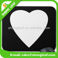 Beautiful heart mouse pad promotional