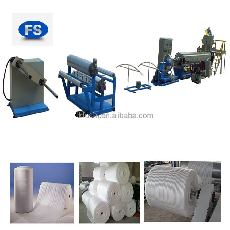 Alibaba China Pe Schaummaschine / Epe Foam Sheet Extrusionslinie