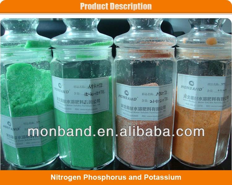 Ifa Member Supply Colorful Npk 20.20.20 +te Fertilizer
