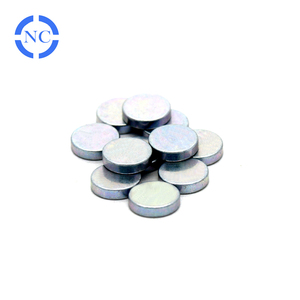 Promotional circle rare earth natural magnet for generator