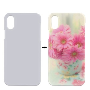 graphic about Printable Phone Case titled white printable 3d blank sublimation cellular cellular mobile phone scenario deal with for apple iphone x