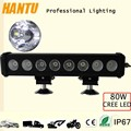80w headlight 4x4 Car Accessories 15.5 inch single row led light bars
