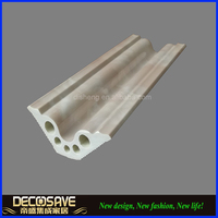 Plastic Artificial Marble Stone Decorative skirting board cover