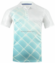 sublimated summer cool men polo t shirt