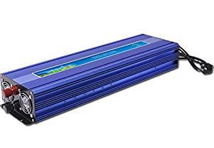 GOWE 2000W Solar Power Inverter, DC12V or DC24V or DC48V-AC220V Pure Sine Wave Inverter