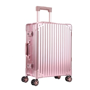 Free Sample Suitcase 28 Inch Size Case 100% Full Abs Aluminum Luggage