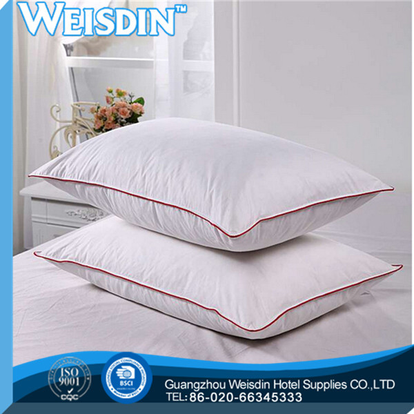 anti-static new style polyester/cotton curve memory foam side sleeper pillow