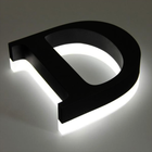 High Quality Stainless Steel Diy Led Acrylic Channel Letters Signs Backlit Electronic Luminous Word