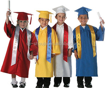 Graduation Cap Gown And Tassel Shiny Finish Adult And Children