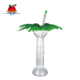 Smart design SY119F 520ml beverage water beer slush ice drinking yard plastic cup with straw