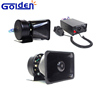 12V 6 Tones Car Electronic Alarm Police Ambulance Fire Electric Siren and Loud Speaker PA System Siren and Speaker
