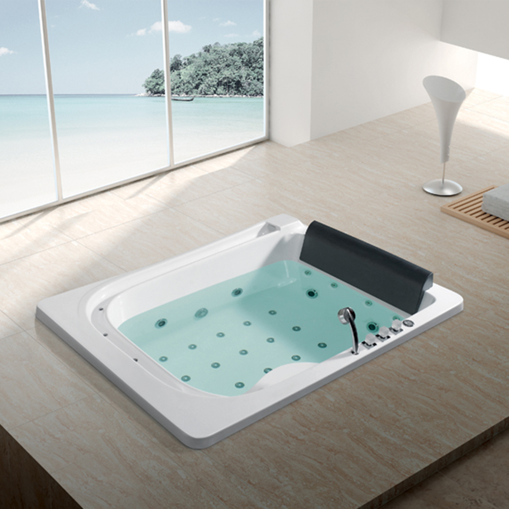 Hs-bc666 2m Length Whirlpool Jets Surfing Two Lounges Bathtub Insert ...