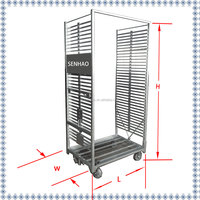hand cart & welding mesh trolley & plant nursery cart TC2053