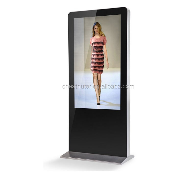 42 Inch AD Player touch lcd Kiosk for movie theaters
