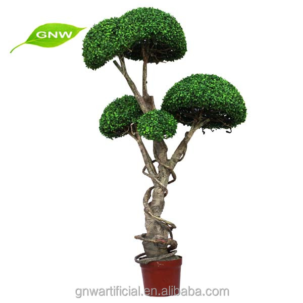 BOX1040 GNW indoor ornamental plants Artificial topiary trees for office decoration and garden decoration