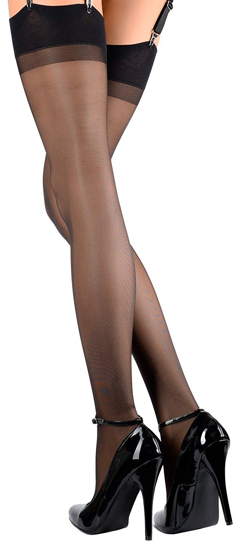 8b12f8d34 Get Quotations · Trasparenze Women s Sara All Sheer Stockings