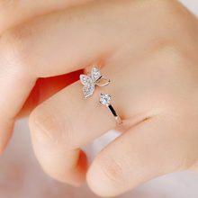 Модные кольца из стерлингового серебра 925 пробы, серебряная буква, для женщин, для девочек, панк, винтажная индивидуальность, женские кольца ...(Китай)