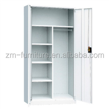 Galvanized metal file cabinet dividers clothes storage cabinet