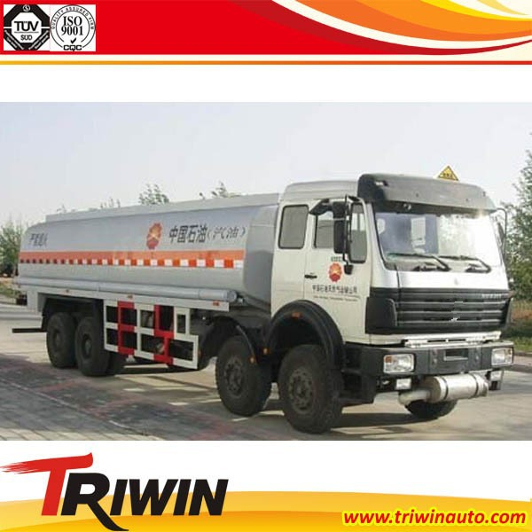 FACTORY PRICE SALE NEW 300 HP 8x4 EURO 4 20000 LITRE FUEL TRUCK CAPACITY