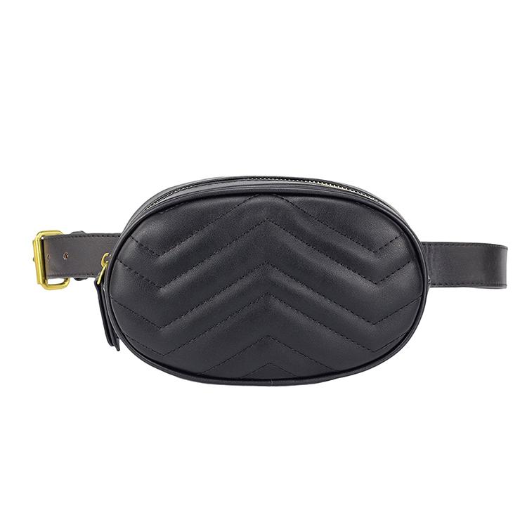 35a5f56074a China Supplier Custom Black Leather Belt Bag Fanny Pack Ladies Waist Bag  Purse - Buy Leather Waist Purse,Waist Bag,Fanny Pack Product on Alibaba.com