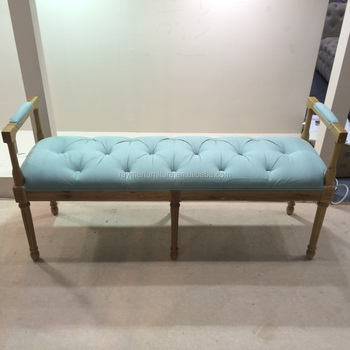 french furniture bed end bench