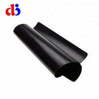 Dongjian newest ptfe fiber glass Non Stick Used Kitchenware anti-oil and flame resistant bbq grill mat