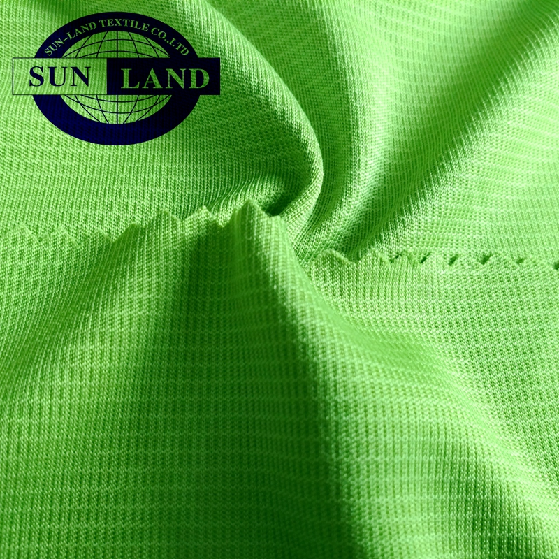 100%cotton combed jersey finished anti bacterial fabric for sportswear