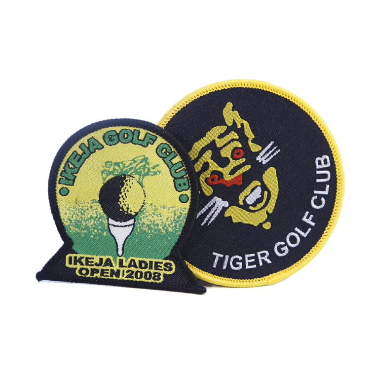 Professional Custom Private LOGO Woven Embroidery School Security Military Scout Pilot Shoulder Army  Badge Patch