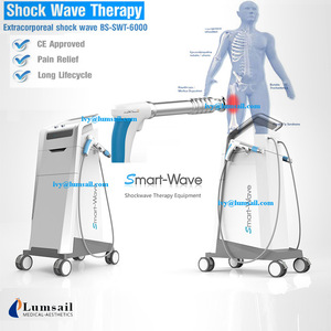 Shock wave therapy rehabilitation machine conservative non-surgical treatment for musculoskeletal pain back pain neck pain