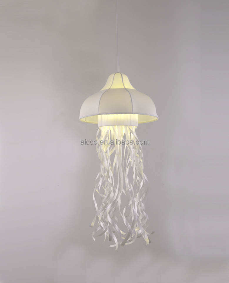 Fabric jellyfish decorative hanging fabric jellyfish kids for Jellyfish lights
