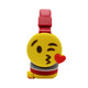 Oem Foldable Wireless Headset Noise Cancelling Cartoon Emoji Cute Headset Emoji Earbuds