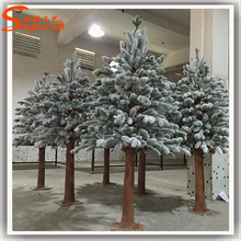 For christmas decor artificial cedar shoe trees wholesale plastic cedar shoe tree