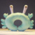 wholesale cute 3d cartoon animal crab u shape memory foam office nap travel neck pillow for neck rest