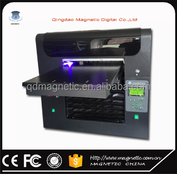 A0 size uv flatbed printer for glass printing machine