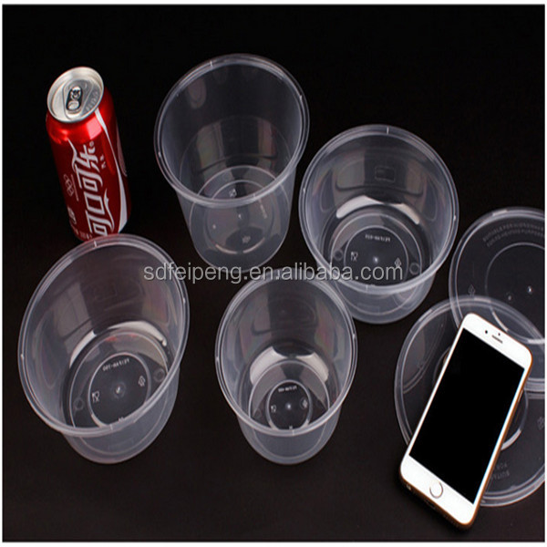 plastic food container packing box for restaurant togo food