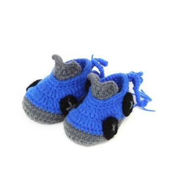 Cartoon Autos Style Handarbeit Gehäkelt Baby Schuhe Buy Handarbeit