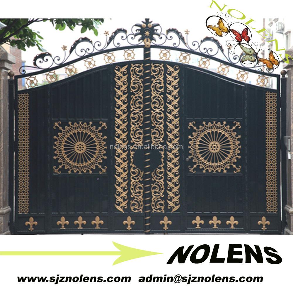 precio bajo ornamental jardn de hierro forjado puertas de entrada para la ventahierro puerta
