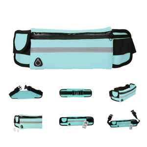 Hydration Belt Adjustable Running Belt with Three Pocket for Runners, Fits All Kind Of Phone